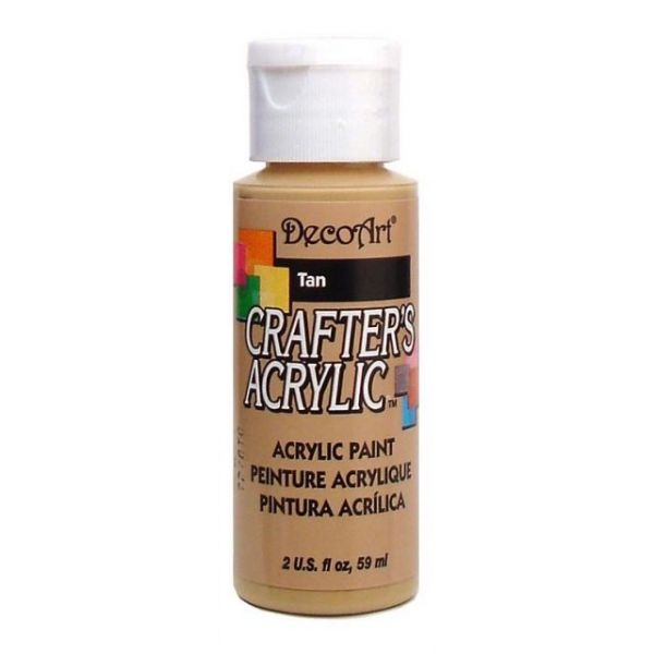 Deco Art Crafter's Acrylic Tan Acrylic Paint
