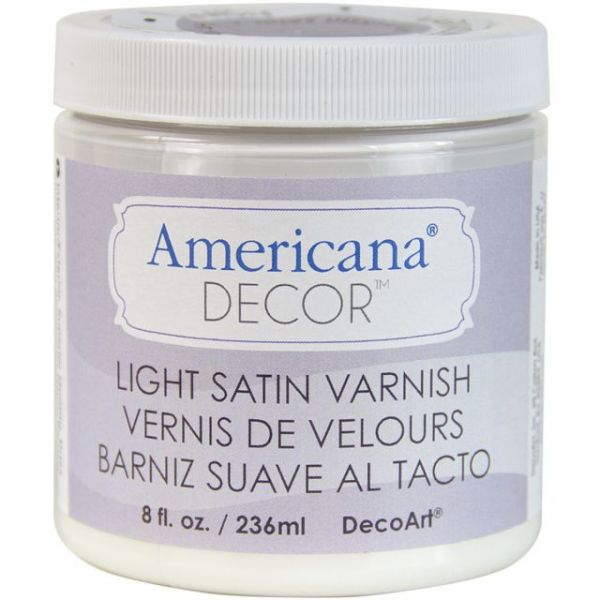 Deco Art Americana Decor Light Satin Varnish