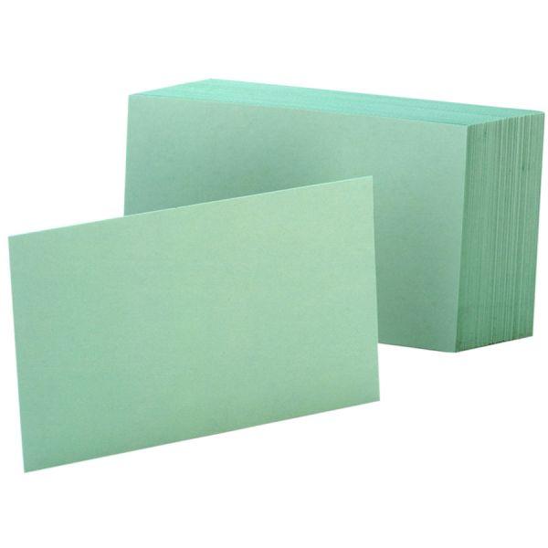 "Esselte 4"" x 6"" Blank Index Cards"