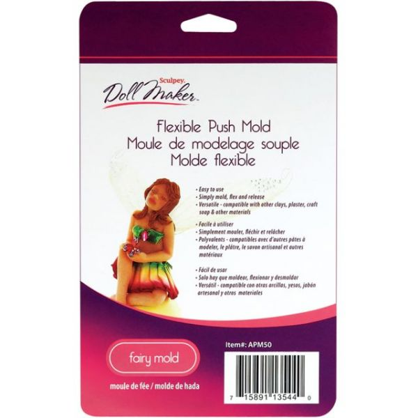 Sculpey III Doll Maker Flexible Push Mold