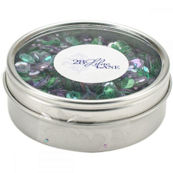 28 Lilac Lane Tin W/Sequins 40g
