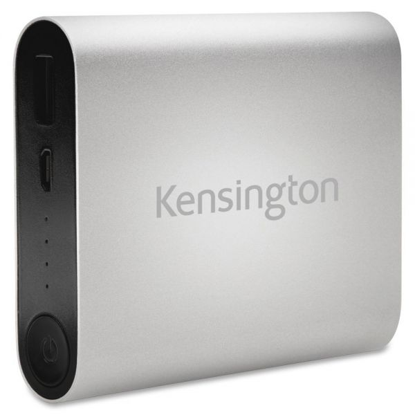 Kensington 10400 USB Mobile Charger-Silver