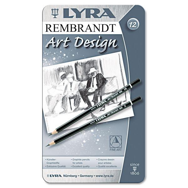 Lyra Graphite Art Pencils