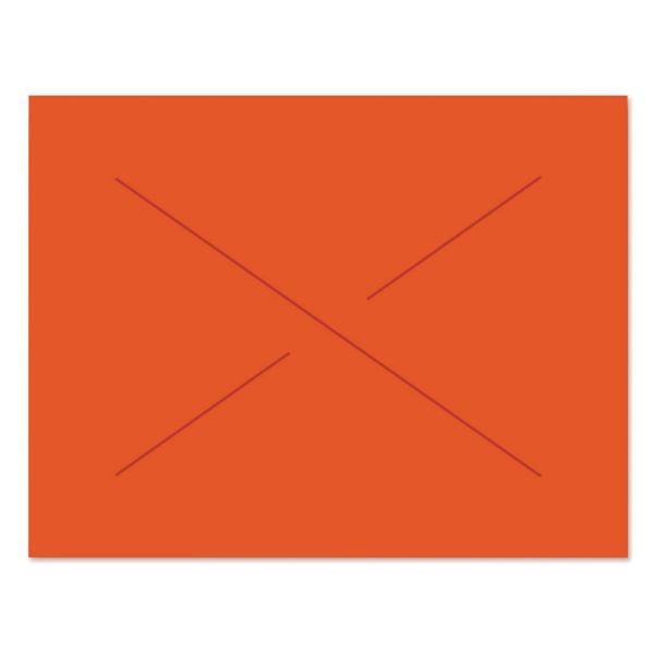 Garvey Two-Line Pricemarker Labels, 5/8 x 13/16, Fluor. Red, 1000/Roll, 3 Rolls/Box