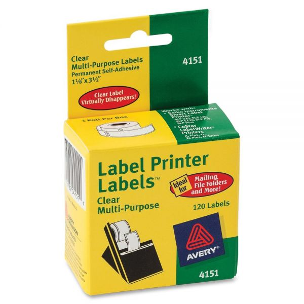 Avery Permanent Address Labels