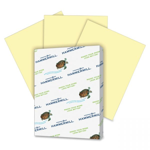 Hammermill Super-Premium Colored Paper - Canary