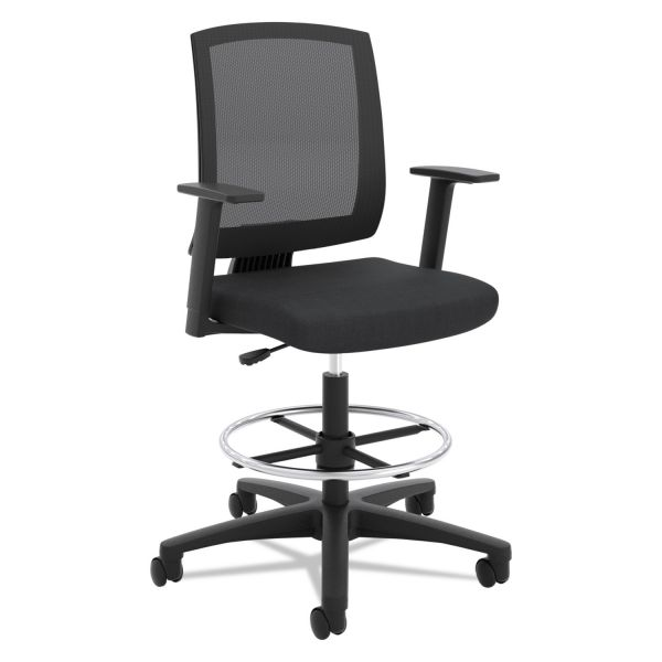 Basyx by HON Center-tilt Mesh Mid-back Task Stool