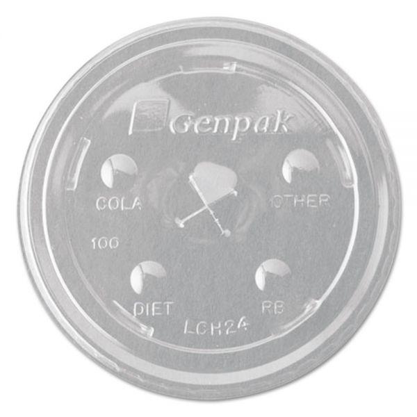 Genpak Cruiser Flat Straw Slot Cup Lids