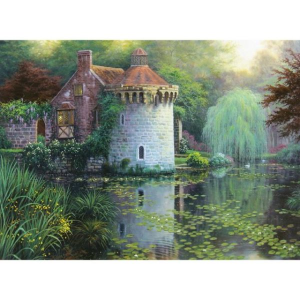 Scotney Castle Garden Counted Cross Stitch Kit