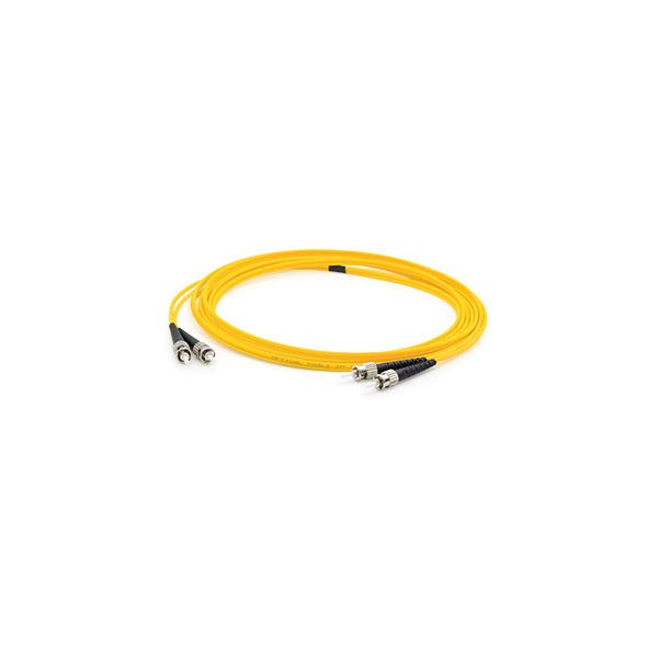 AddOn 4m Single-Mode Fiber (SMF) Duplex ST/ST OS1 Yellow Patch Cable