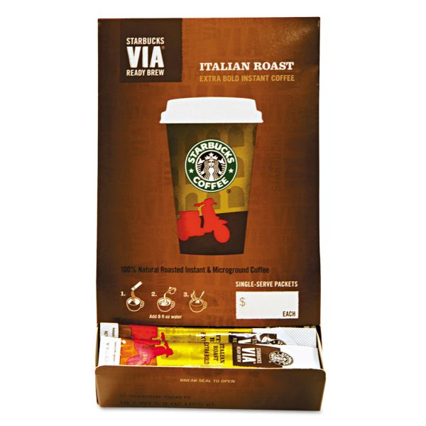 Starbucks VIA Ready Brew Instant Coffee Packets