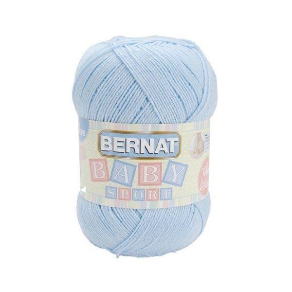 Bernat Baby Sport Big Ball Yarn - Baby Blue