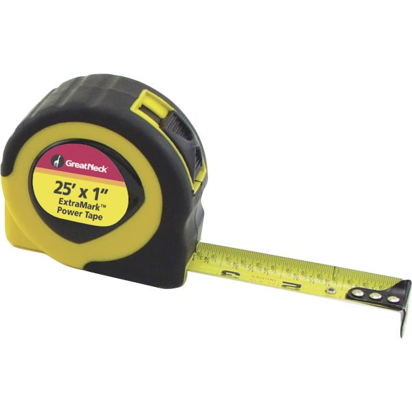Great Neck ExtraMark Fractional Tape Measure