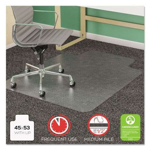 deflecto SuperMat Frequent Use Medium Pile Chair Mat
