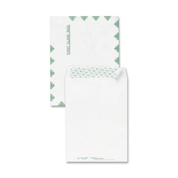 "Sparco 9 1/2"" x 12"" First Class Tyvek Envelopes"
