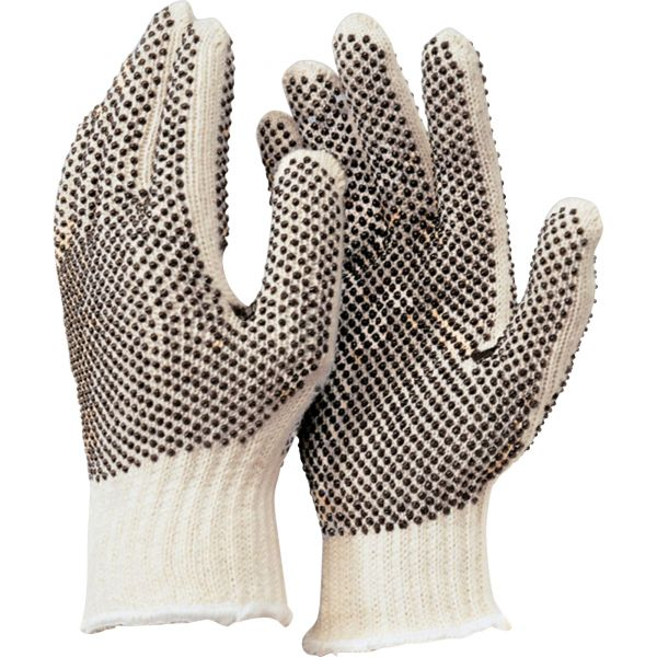 MCR Safety PVC Dots Cotton/Polyester Gloves