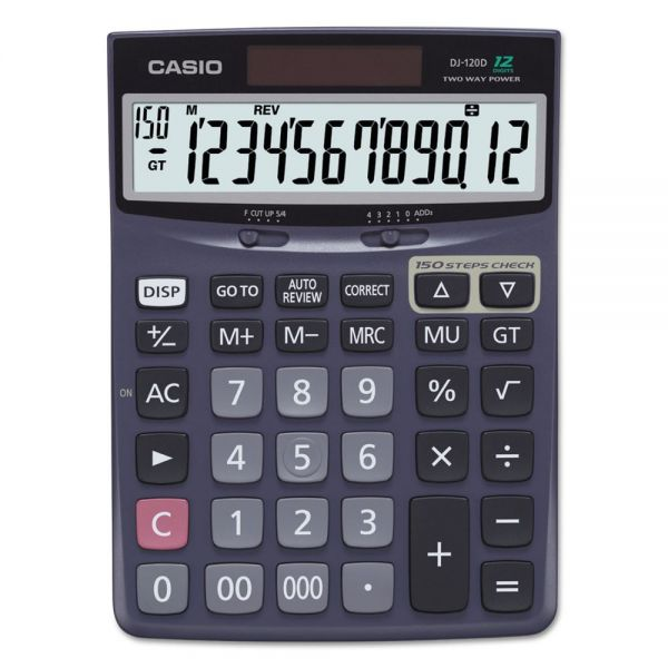 Casio DJ-120D Calculator