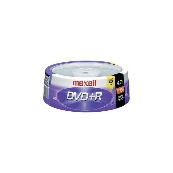 Maxell Recordable DVD Media
