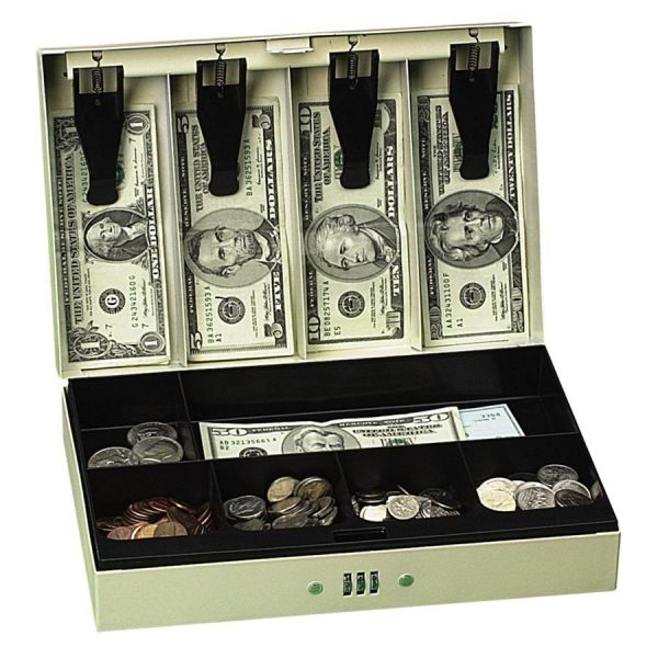 PM Steel Cash Box