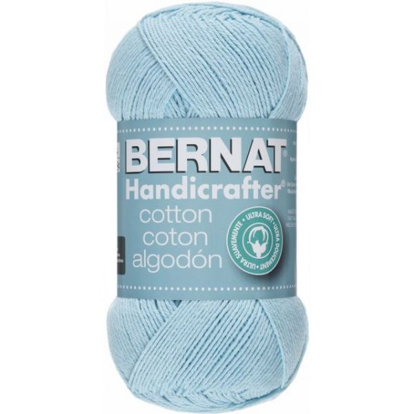 Bernat Handicrafter Cotton Yarn - Robin Egg