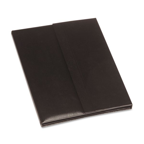Blueline i-Pal Notes, iPad Case/Easel/Notepad Holder, Lizard, Black
