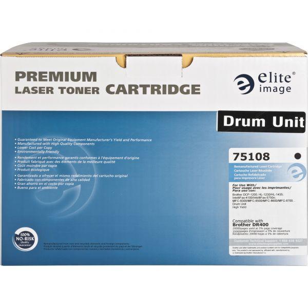 Elite Image 75108 Remanufactured Laser Drum for OEM DR400