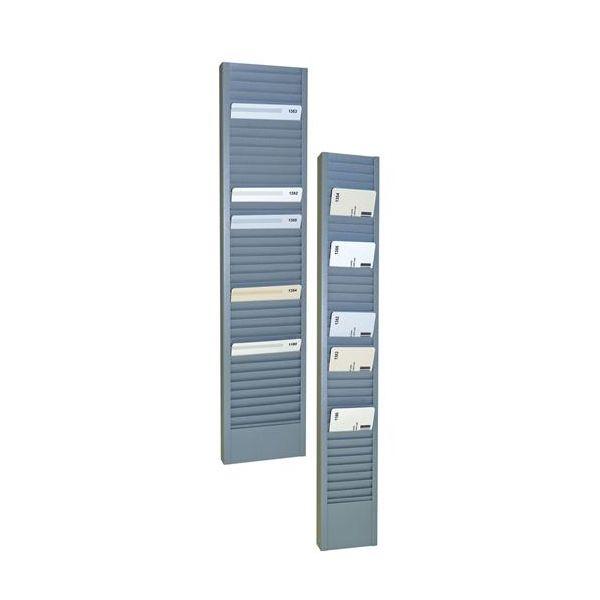 SteelMaster Swipe Card/Badge Rack