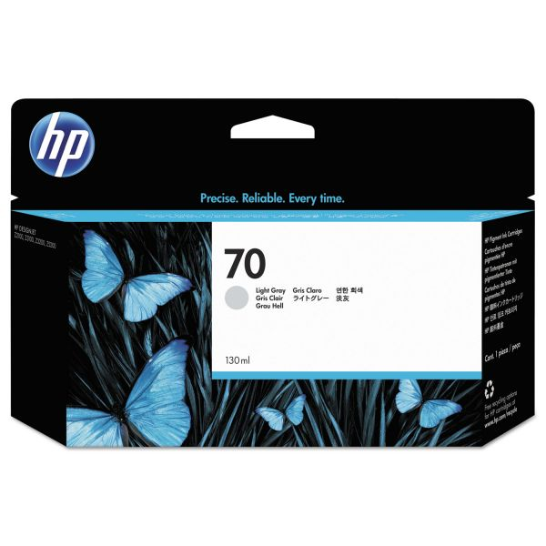 HP 70 Light Gray Ink Cartridge (C9451A)