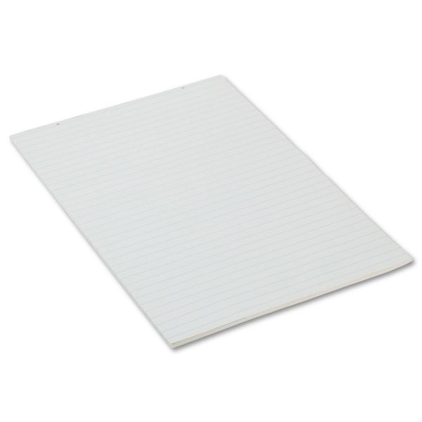 Pacon Primary Chart Pad, 1in Short Rule, 24 x 36, White, 100 Sheets