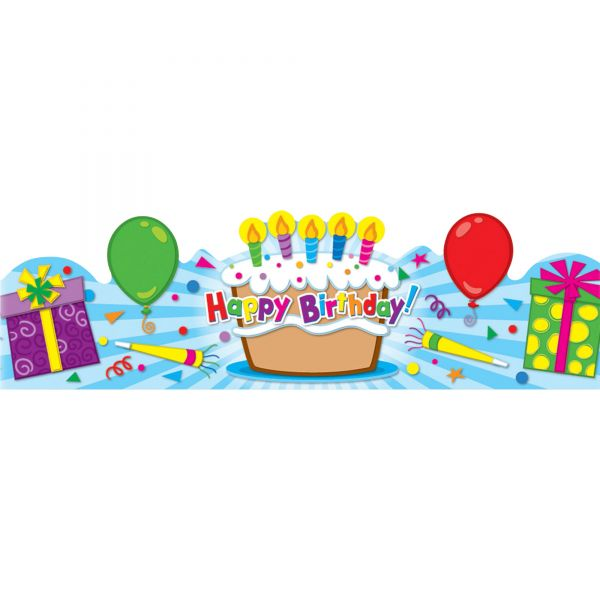 Carson-Dellosa Publishing Student Birthday Crown