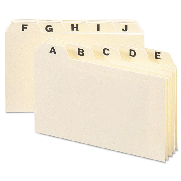 Smead 56076 Alphabetic Guide Set