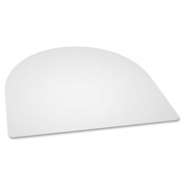 Lorell Rectangular Crystal Clear Desk Pad