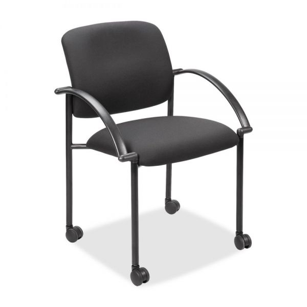 Lorell Stacking Guest Chairs with Arms