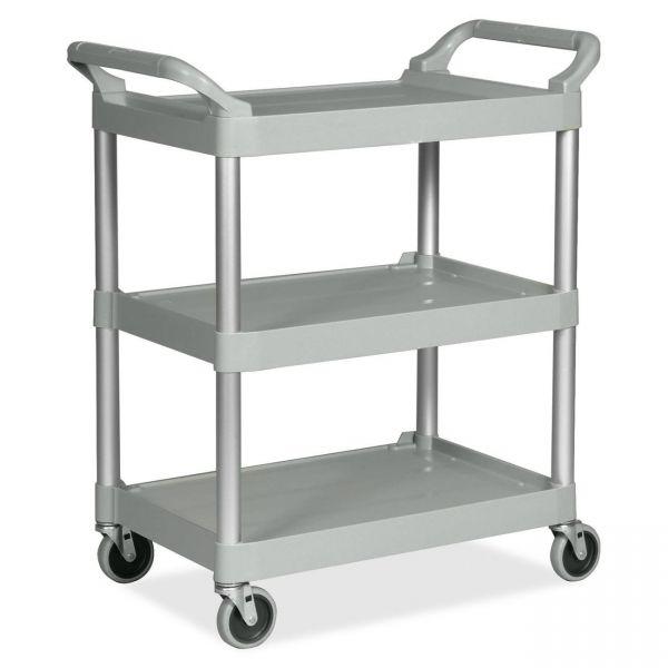 Rubbermaid 3-Shelf Utility Service Cart