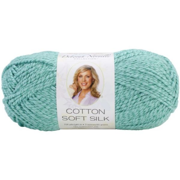 Deborah Norville Cotton Soft Silk Yarn - Emerald