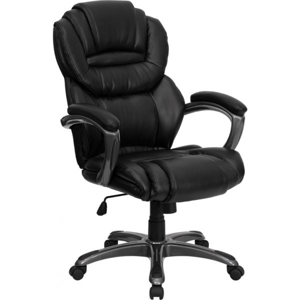 Flash Furniture High Back Executive Swivel Office Chair [GO-901-BK-GG]