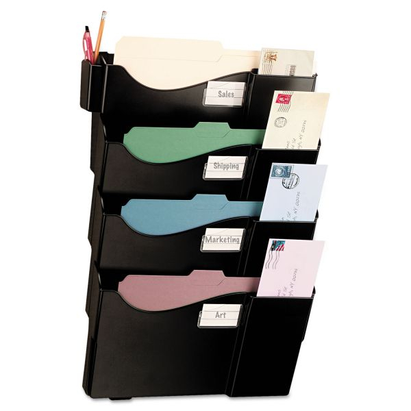 OIC Starter Hanging Wall File Pockets