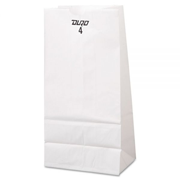 General #4 White Paper Grocery Bags