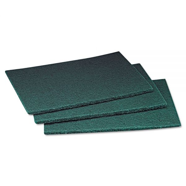 Scotch-Brite PROFESSIONAL Commercial Scouring Pad, 6 x 9, 60/Carton