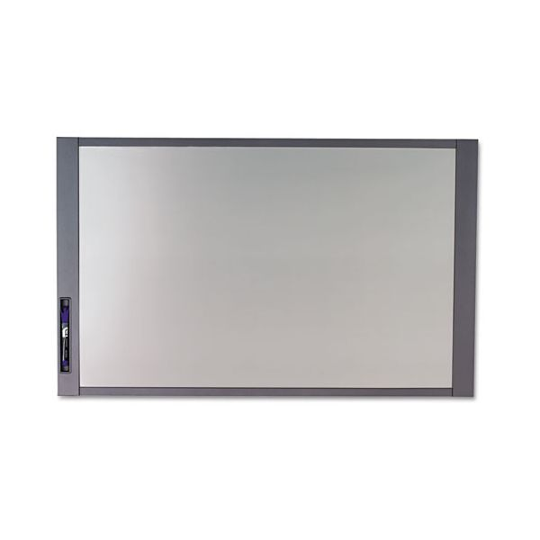 Quartet InView Custom Whiteboard, 36 x 24, Graphite Frame