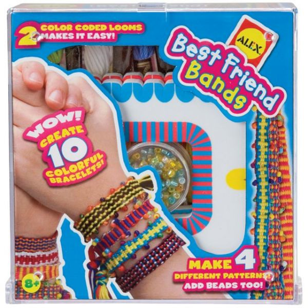 ALEX Toys Do-It-Yourself Best Friend Bands Jewelry Kit