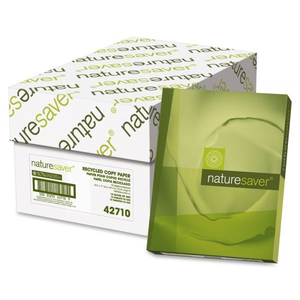 Nature Saver Multi-Purpose White Copy Paper