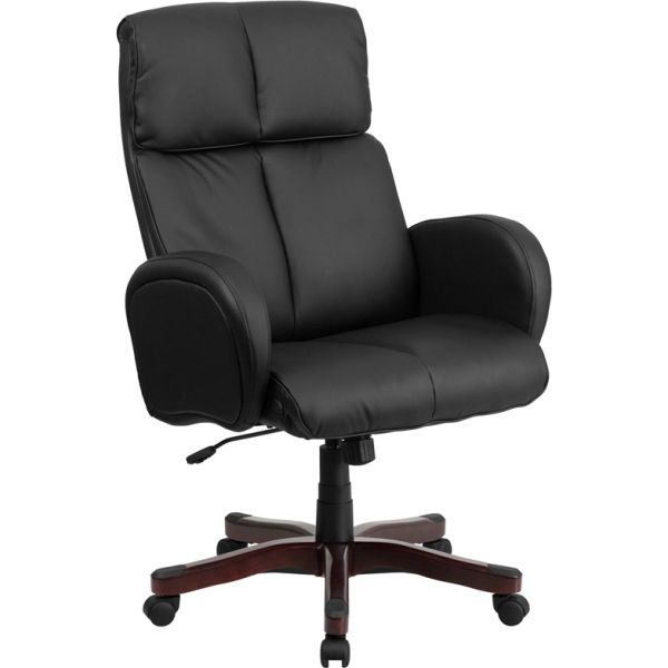 Flash Furniture High Back Executive Swivel Office Chair [BT-9028H-1-GG]