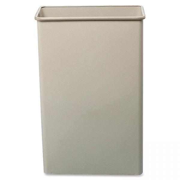 Safco Fire-Safe Rectangular 22 Gallon Trash Can