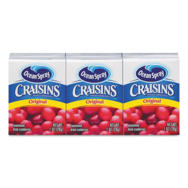 Ocean Spray Craisins Snack Packs