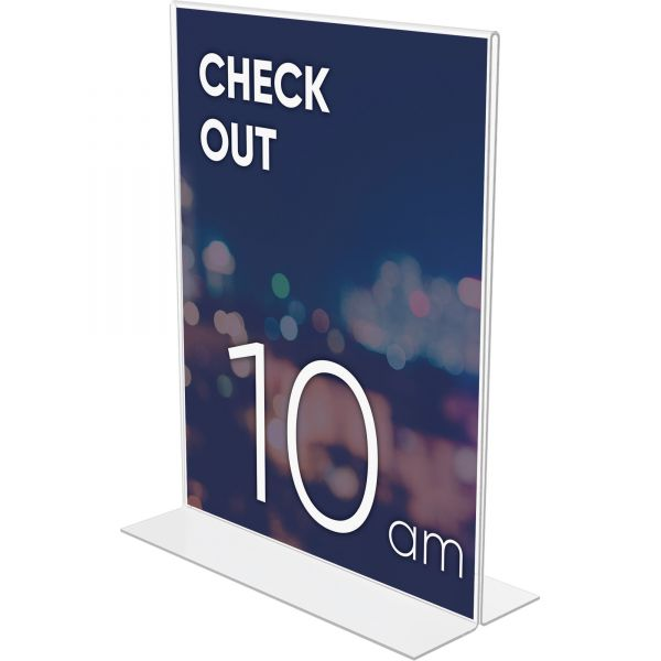 Lorell Double-Sided Picture/Document Frame