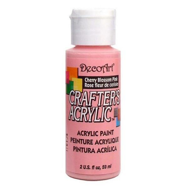 Deco Art Cherry Blossom Pink Crafter's Acrylic Paint