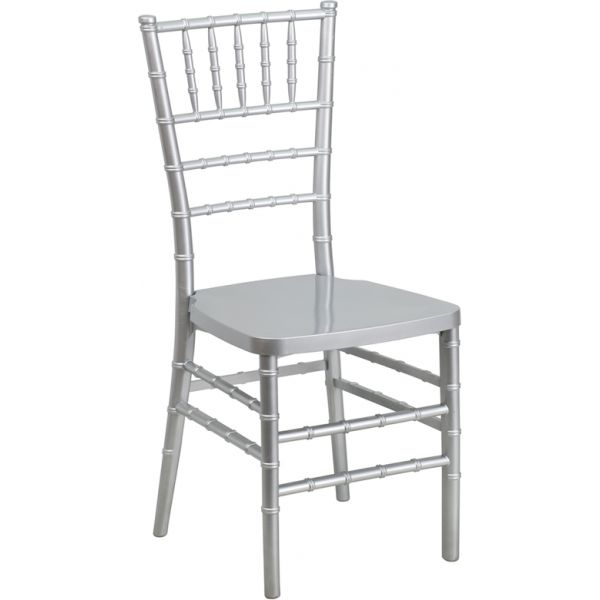 Flash Furniture Silver Chiavari Chair