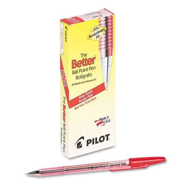 Pilot Better Stick Ballpoint Pens