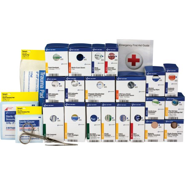 First Aid Only Large SmartCompliance ANSI Class A+ Refill Pack, 202 Pieces